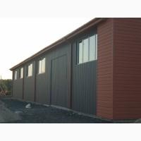 Швидкомонтовані будівлі для сільгоспвиробників (ангари, сховища, гаражі для техніки, цехи)