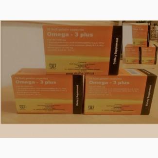 Капсулы с маслом рыбьего жира Омега-3 Plus