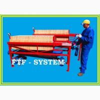 Фильтр рамочный напорно-вакуумный полуавтоматический FTF-system
