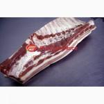 Грудинка свиная, продам грудинку свиную на кости (ребре)