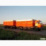 Послуги зерновоза. Перевезення сільськогосподарської продукції