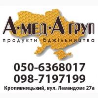 АМЕДА ГРУП Куємо мед оптом від 300 кг